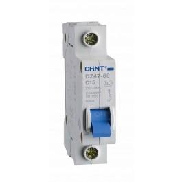DZ47-60B 1P 01A 4.5kA х-ка B Автоматический выключатель (CHINT)