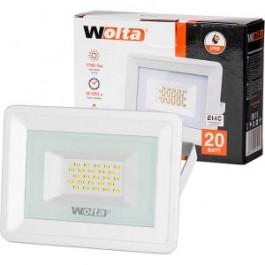 Прожектор cветодиодный WOLTA WFL-20W/06W 5500K 20 Вт SMD IP65 1700 Лм белый