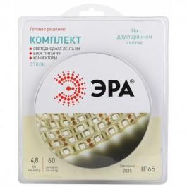 ЭРА Комплект светодиодной ленты 2835kit-4,8-60-12-IP65-2700-5m