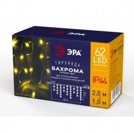 ЭРА Гирлянда LED Бахрома 2м*1м теплый свет, 24V, IP44