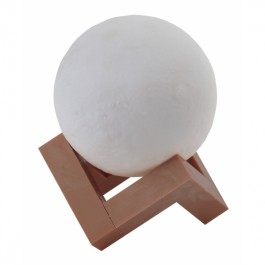Настольный светильник белый ЭРА NLED-490-1W-W