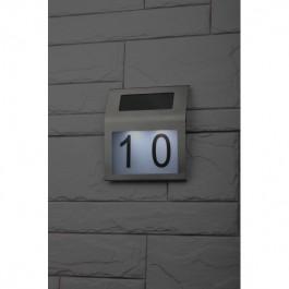 Номер дома с подсветкой, на солнечной батарее, ЭРА FS048-09 2LED