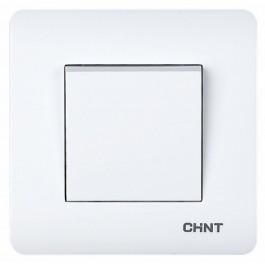 1-клавишный проходной выключатель 10А 250В (CHINT)