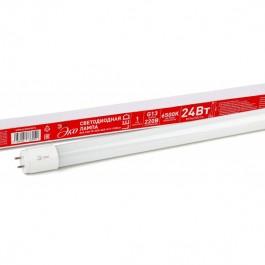 ECO LED T8-24W-840(865)-G13-1500mm ЭРА (диод,трубка стекл,24Вт,нейтр,непов. G13)
