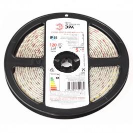 ЭРА Лента светодиодная LS2835-120LED-IP65-WW-eco-5m