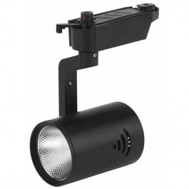 Светильник светодиодный трековый TR1 - 10 BK  ЭРА 10Вт черный COB