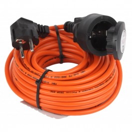 ЭРА Удлинитель силовой UPx-1e-3x0.75-10m-IP44 в бухте c/з 1 гн 10м ПВС 3х0.75