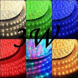 Дюралайт светодиодный, свечение с динамикой (3W), 220В, диаметр 13 мм, бухта 100м, NEON-NIGHT