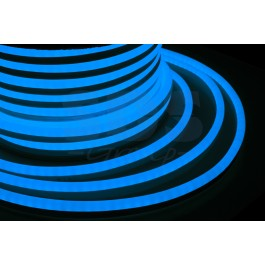 Гибкий неон светодиодный, постоянное свечение, синий