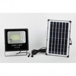 ЭРА Прожектор светодиодный уличный на солн. бат. 100W, 1200 lm, 5000K, с датч. движения