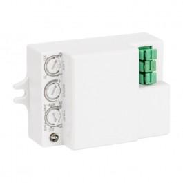 Микроволновый датчик движения белый  IP20 MW-706