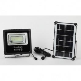 ЭРА Прожектор светодиодный уличный на солн. бат. 50W, 360 lm, 5000K, с датч. движения, ПДУ, IP65