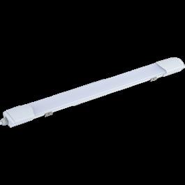 Ecola LED linear IP65 тонкий линейный светодиодный светильник 40W 4200K/6500К 1185x60x30