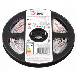 ЭРА Лента светодиодная LS5050-7,2-30-12-RGB-IP20-1 year-5m