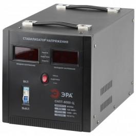 СНПТ-8000-Ц ЭРА Стабилизатор напряжения переносной, ц.д., 140-260В/220/В, 8000ВА