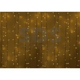 Гирлянда светодиодный дождь желтая