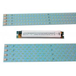 Комплект светодиодных линеек  4х8 Вт для сборки светильников