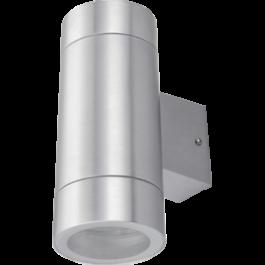 Светильник 2хGX53, IP65, цилиндр, метал 205x90