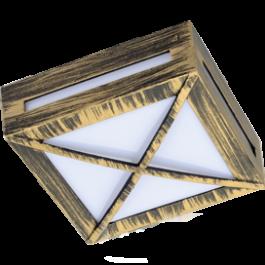 Светильник GX53 квадрат с решеткой IP65