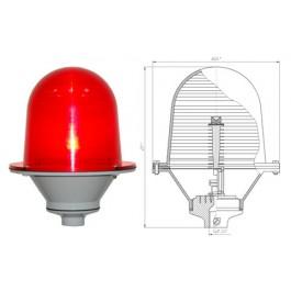 Заградительный огонь «ЗОМ-3» >10cd, тип «А», 30-265V AC/DC, IP54 ТУ 3461-001-69016606-2010