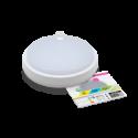 Светодиодный светильник ГЕРМ СПП-Д 2303 12ВТ 230В 4000К 960ЛМ 170ММ с датчиком движения круг IP65