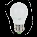 Светодиодная лампа LED-ШАР-P45 5 Вт 220 В Е27/E14 3000/4000 K 450 Лм