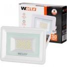 Прожектор cветодиодный WOLTA WFL-30W/06W белый 5500K 30 Вт SMD IP65 2550 Лм