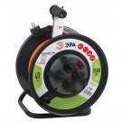 ЭРА Удлинитель силовой RMx-4es-3x1.5-40m-IP44 на м. катушке c/з 4 гн 40м ПВС 3х1.5