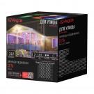 """Электрогирлянда-конструктор """"Сеть"""" 144 разноцветных LED ламп, прозрачный провод, 1,2*1,5 м"""