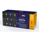 ЭРА Гирлянда LED Сеть 1,8 м*1,5 м мультиколор, мультирежим