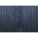 """Гирлянда """"Светодиодный Дождь"""" 2х1,5м, постоянное свечение, темно-зеленый провод, 220В, диоды БЕЛЫЕ"""