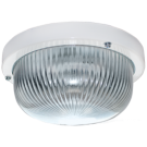 Светильник ДПП 03-7-001 круг накладной 1хGX53 прозр/матовое стекло IP65 белый 185х185х85