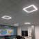 Светодиодная ультратонкая панель-рамка 40W 595х595х8 мм