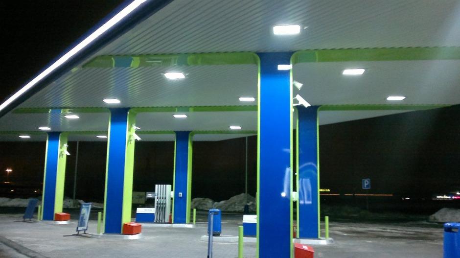 светодиодные светильники азс