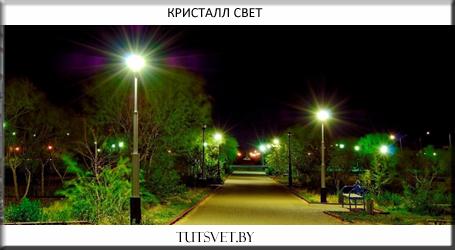 Светодиодные светильники для улицы